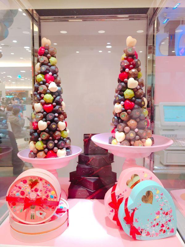 バレンタイン 阪急百貨店 チョコ調査