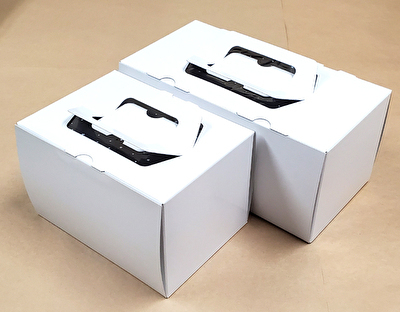 画像1: C-02-ノエル(紙製金トレー1本爪トレー付)小/大@1つ91.30円〜107.80円 (1)