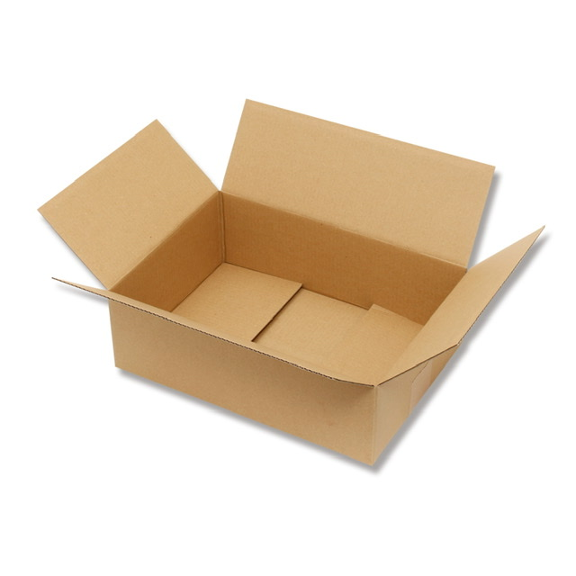 画像1: 配送用段ボール  HEIKO 箱 ダンボール A4用-100 20枚入 1枚あたり@120.20 (1)